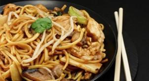 ¿Ya probaste la comida China?
