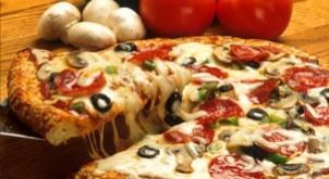 ¿Ya probaste la comida Pizza?